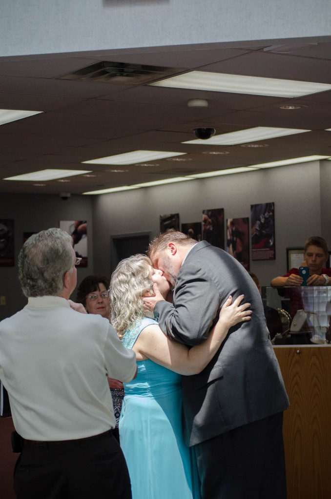 Wedding in a Shane Co. Store