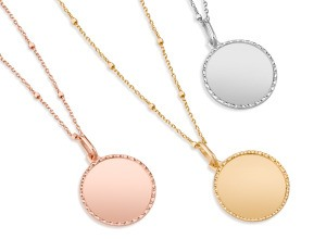 Capri Medallion Necklaces