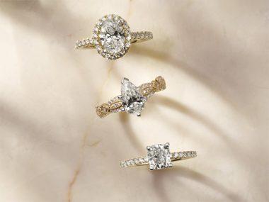 Three Engagement Rings