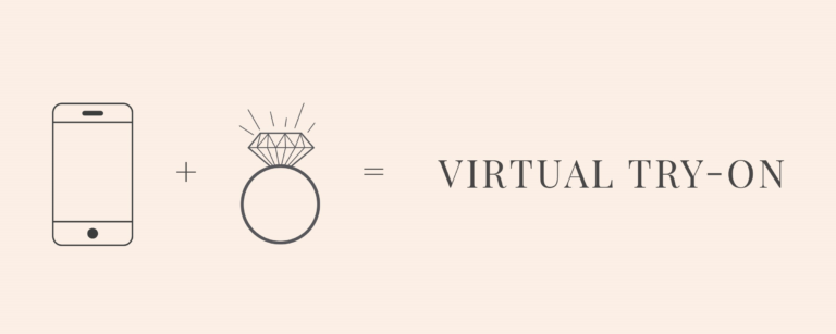 Virtual engagement ring try-on from Shane Co.