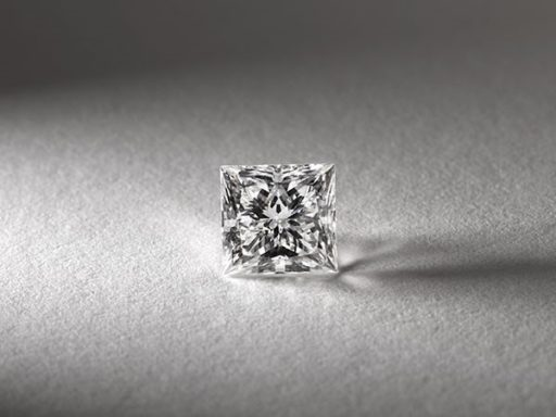Princess cut diamond.