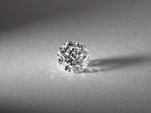 Round diamond.