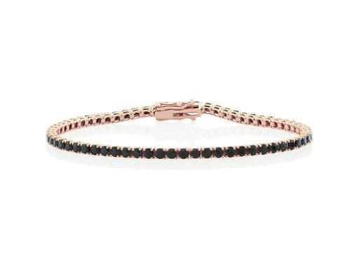 Black Sapphire Tennis Bracelet