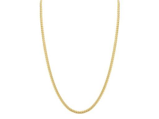 Miami Cuban chain in 14k yellow gold