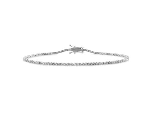 Diamond-Lined Bracelet