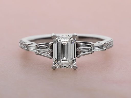 Classic Engagement Ring.