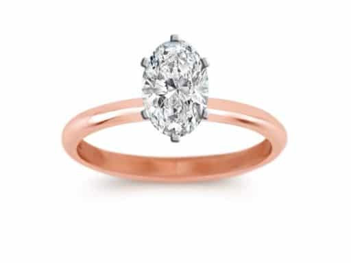 Classic Solitaire Engagement Ring.