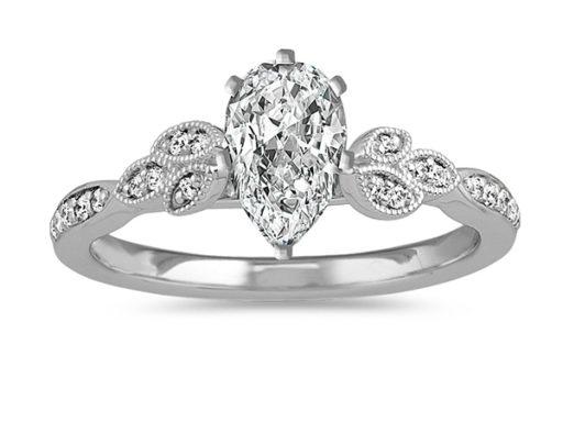 Vintage Diamond Engagement Ring.