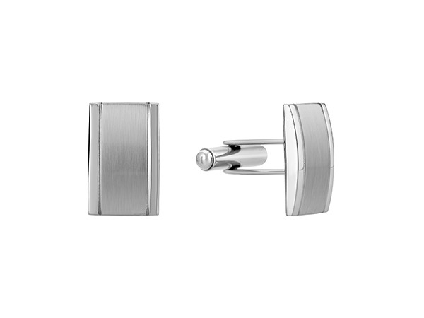 Stainless Steel Cuff Links.