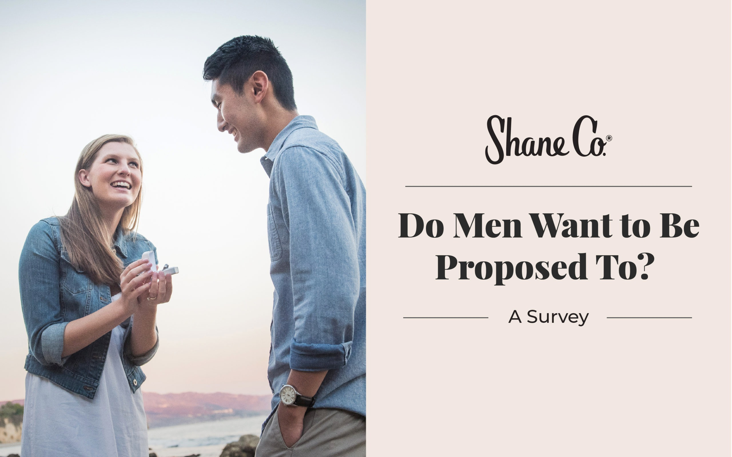 Do men want to be proposed to? A survey