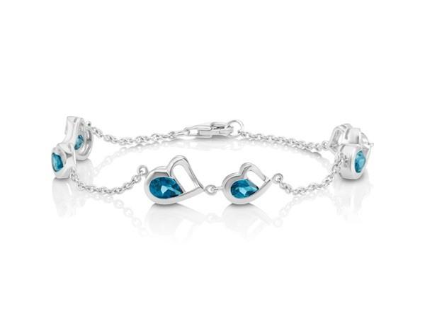 London Blue Topaz bracelet.